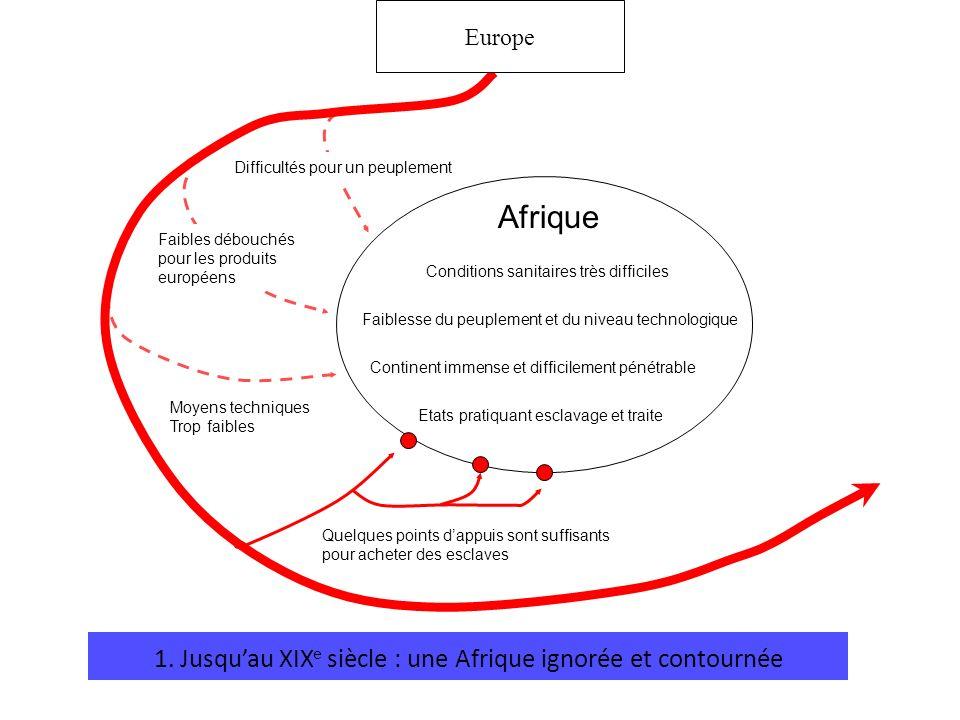 1. Jusqu'au XIXe siècle : une Afrique ignorée et contournée