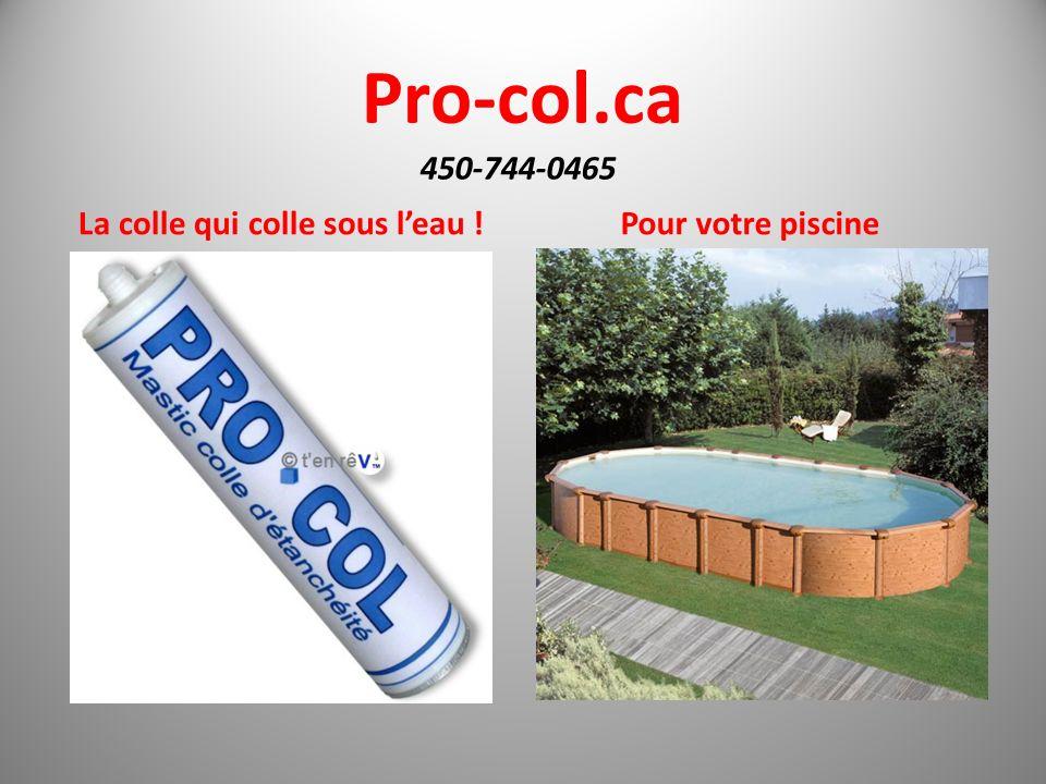 Pro-col.ca La colle des professionnels 450-744-0465