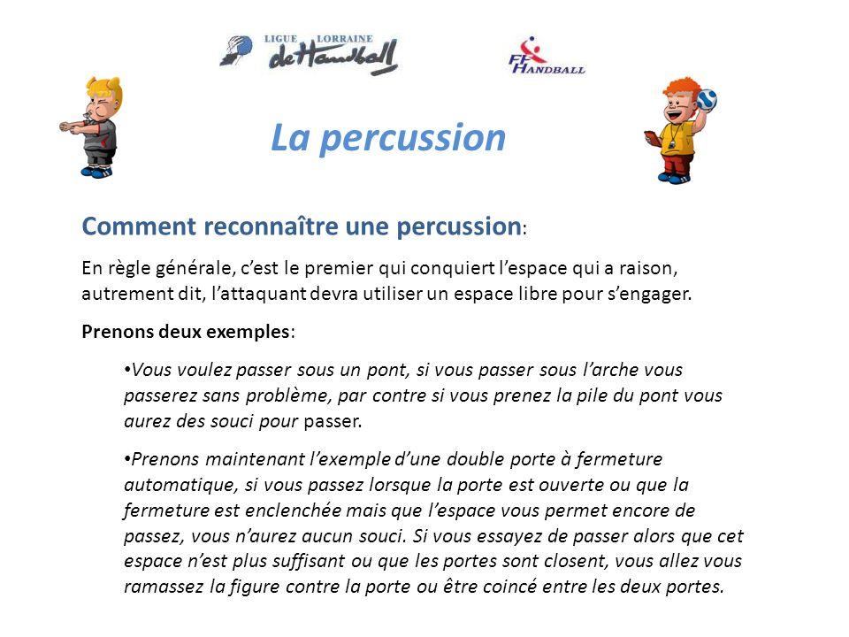 La percussion Comment reconnaître une percussion: