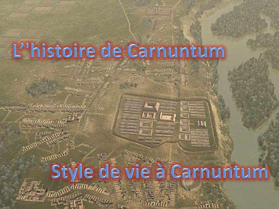 L' histoire de Carnuntum Style de vie à Carnuntum