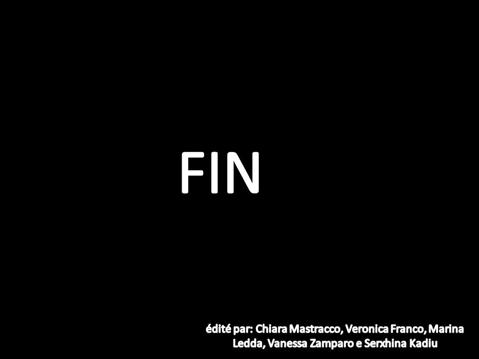 FIN édité par: Chiara Mastracco, Veronica Franco, Marina Ledda, Vanessa Zamparo e Serxhina Kadiu