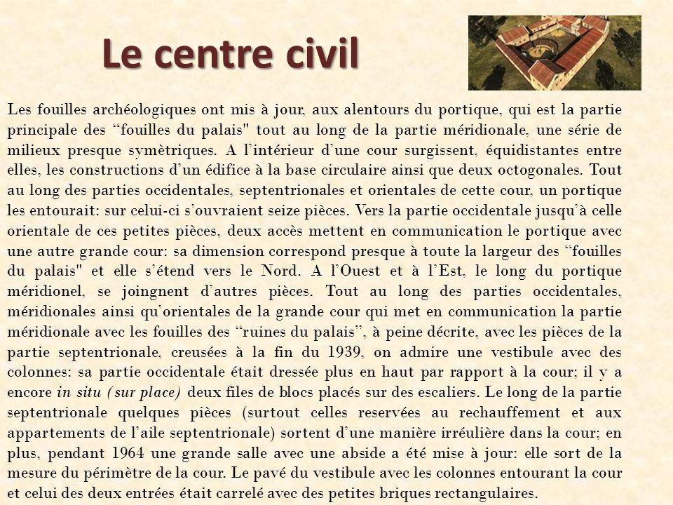Le centre civil