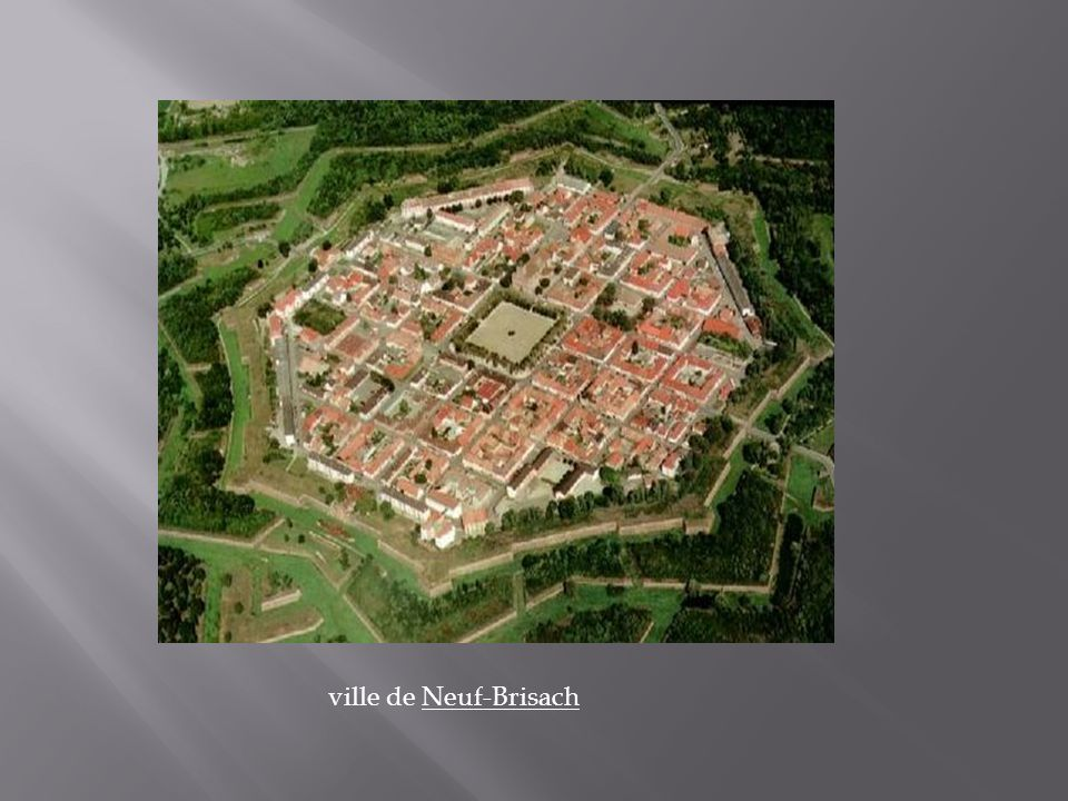 ville de Neuf-Brisach