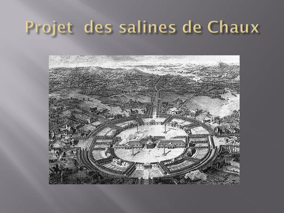 Projet des salines de Chaux