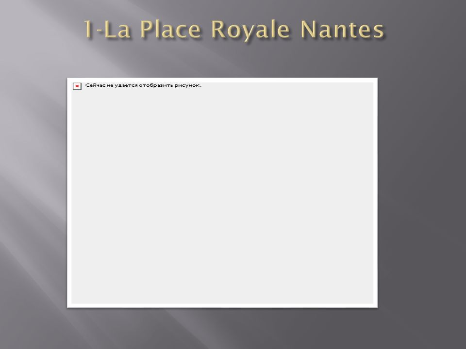 1-La Place Royale Nantes