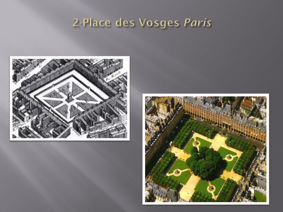 2-Place des Vosges Paris