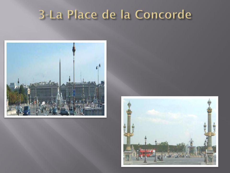 3-La Place de la Concorde
