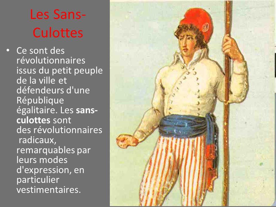 Les Sans-Culottes