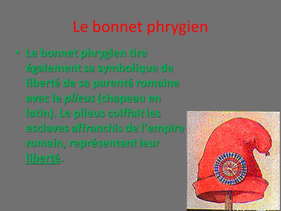 Le bonnet phrygien