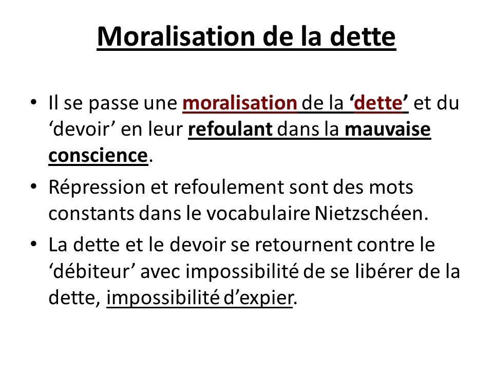 Moralisation de la dette