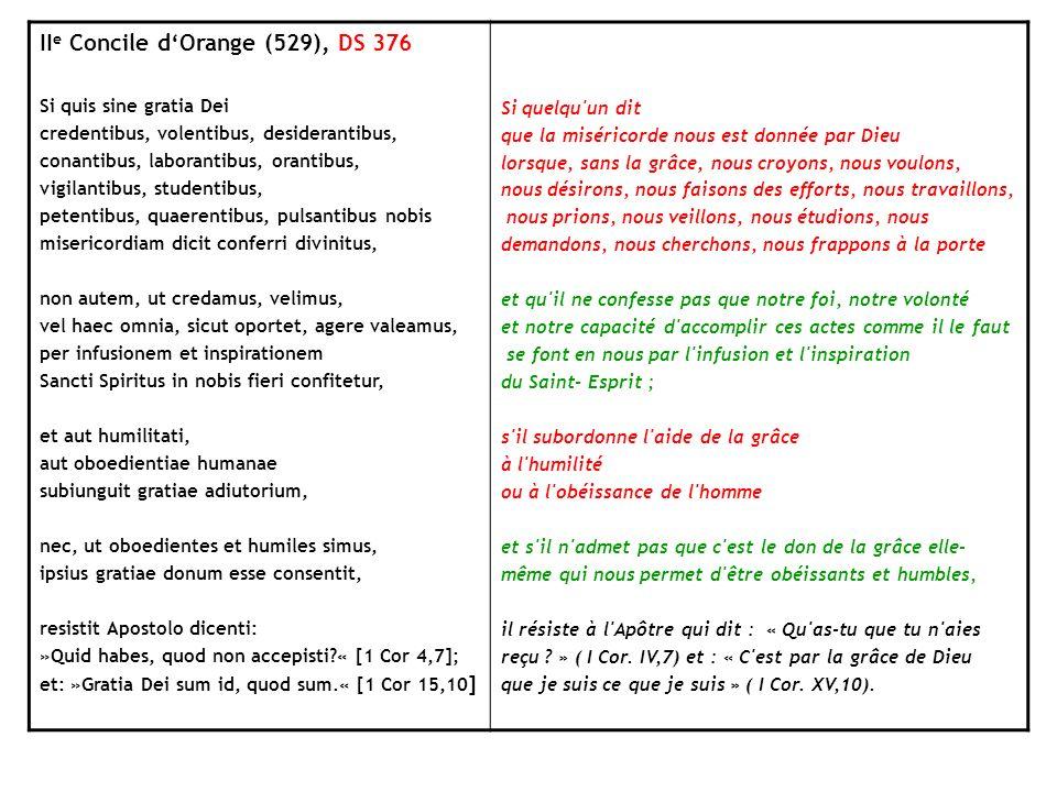 IIe Concile d'Orange (529), DS 376