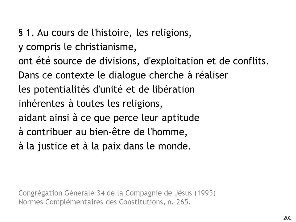 § 1. Au cours de l histoire, les religions,