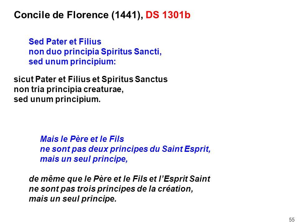 Concile de Florence (1441), DS 1301b