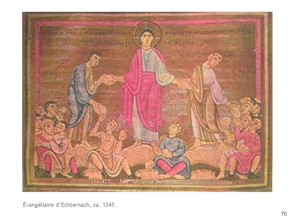 Évangéliaire d'Echternach, ca. 1045