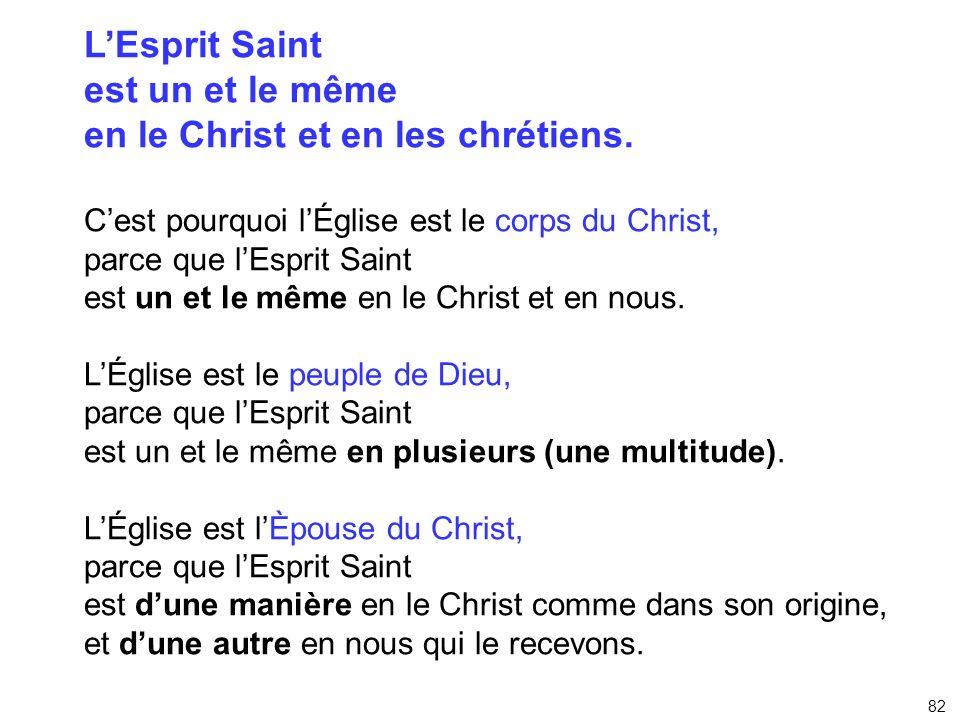 en le Christ et en les chrétiens.