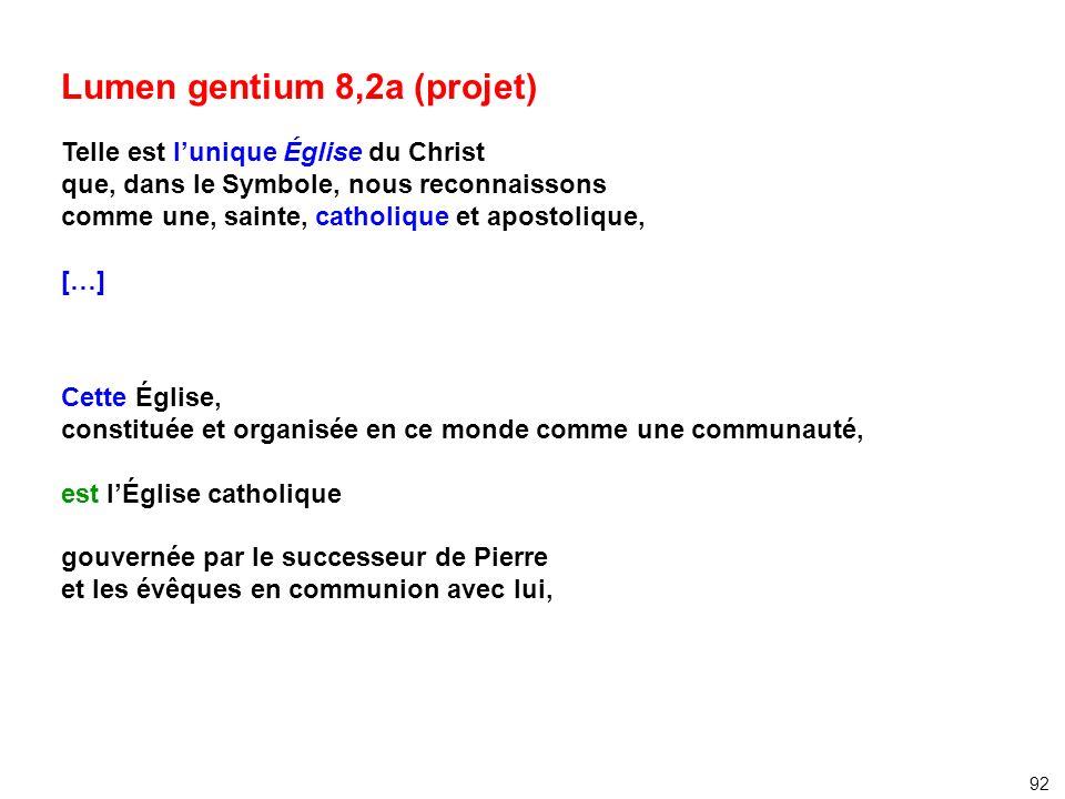 Lumen gentium 8,2a (projet)