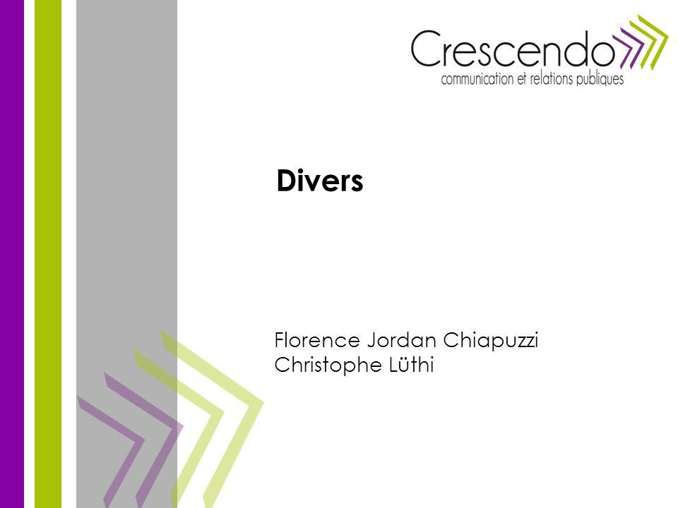 Florence Jordan Chiapuzzi Christophe Lüthi