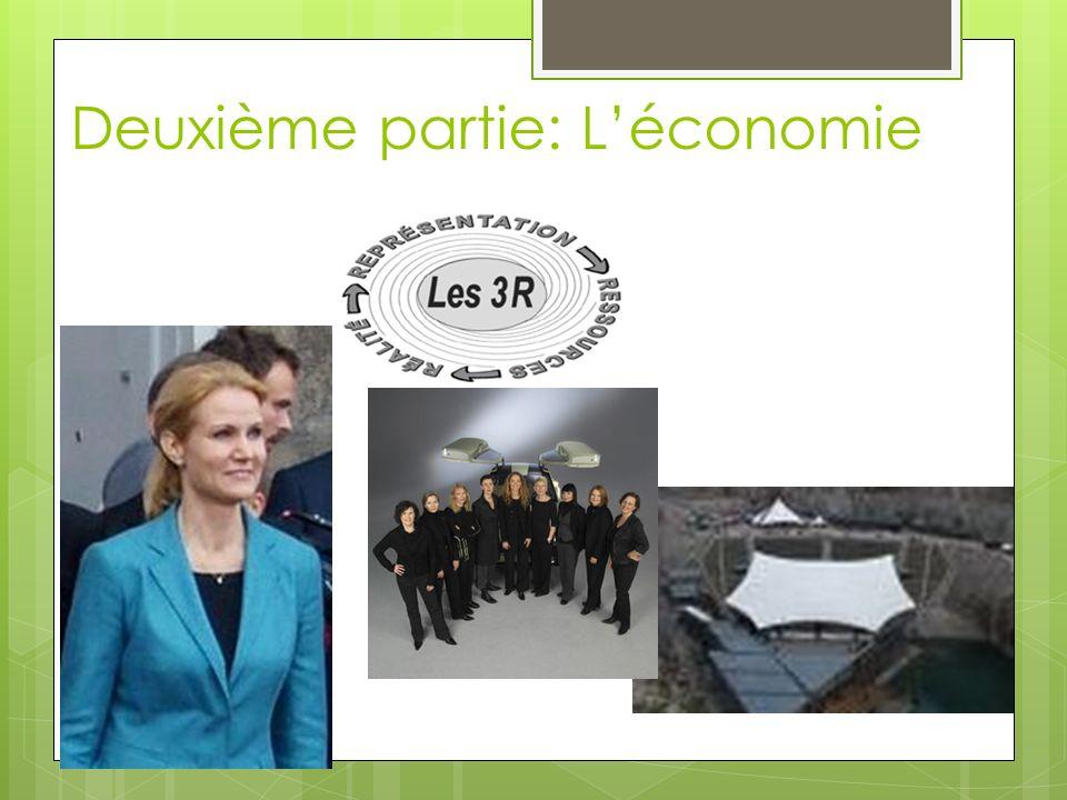 Deuxième partie: L'économie