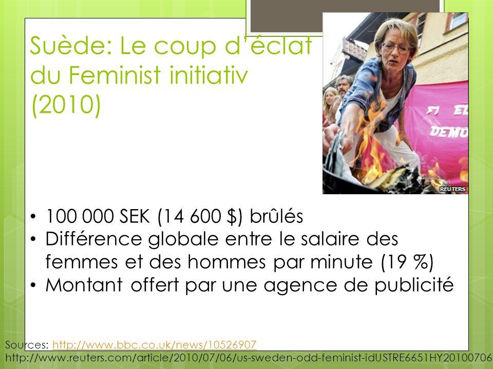Suède: Le coup d'éclat du Feminist initiativ (2010)