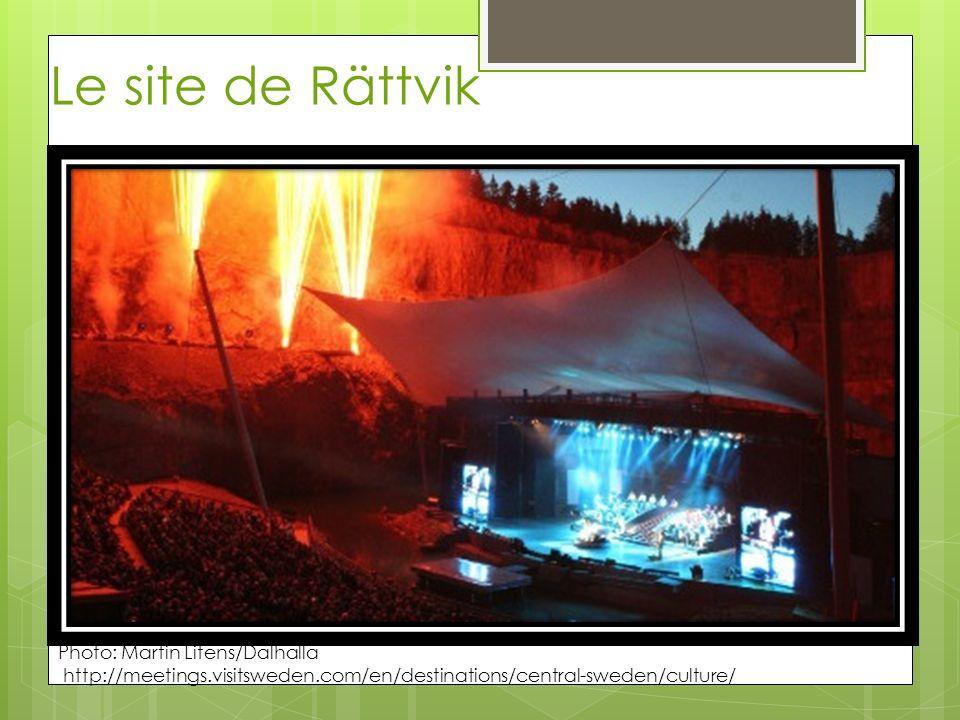 Le site de Rättvik Photo: Martin Litens/Dalhalla