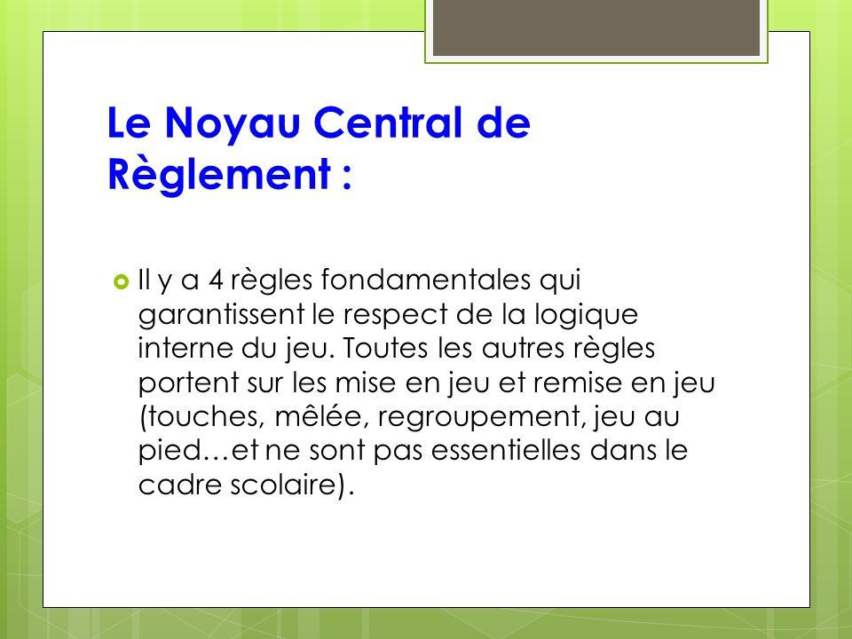 Le Noyau Central de Règlement :