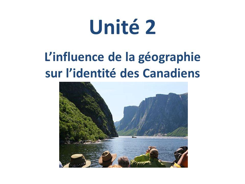 L'influence de la géographie sur l'identité des Canadiens