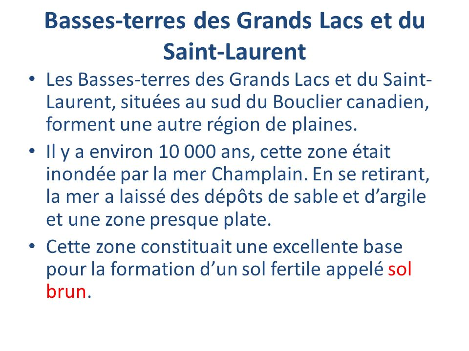 Basses-terres des Grands Lacs et du Saint-Laurent