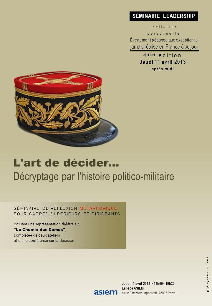Décryptage par l histoire politico-militaire