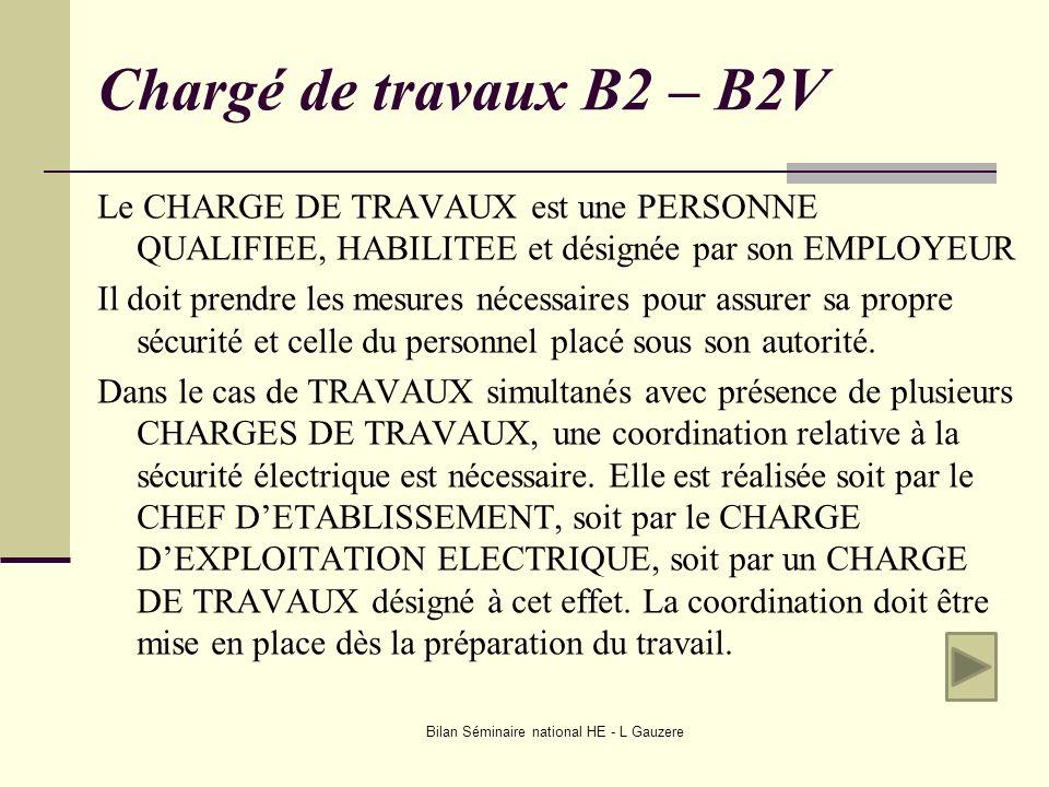 Bilan Séminaire national HE - L Gauzere
