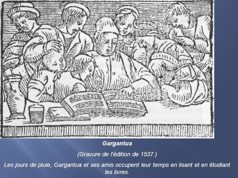 (Gravure de l édition de 1537.)