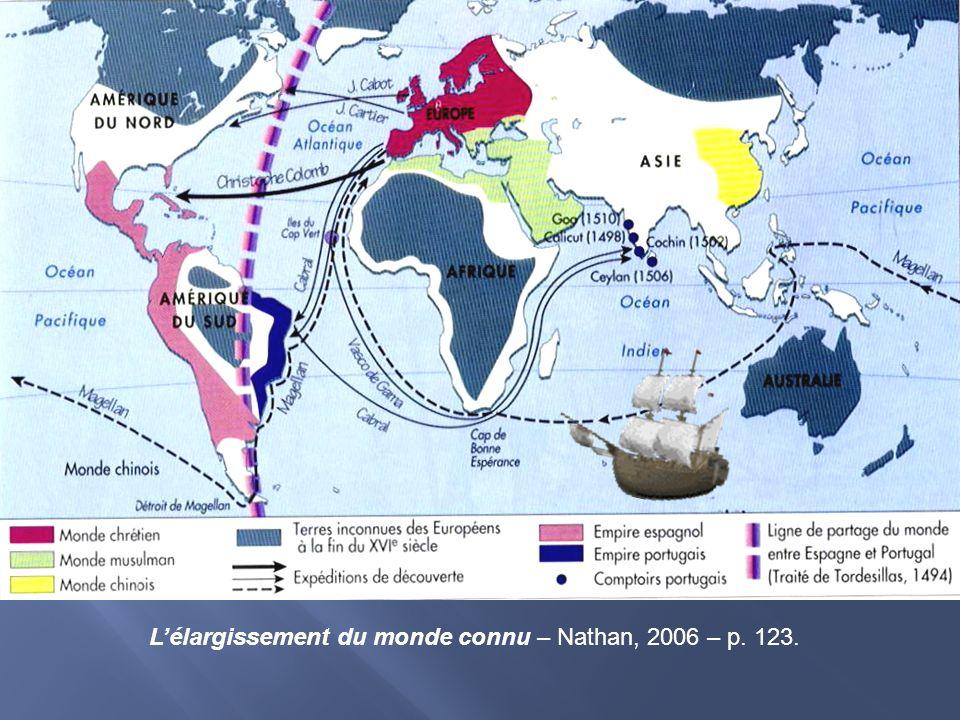 L'élargissement du monde connu – Nathan, 2006 – p. 123.