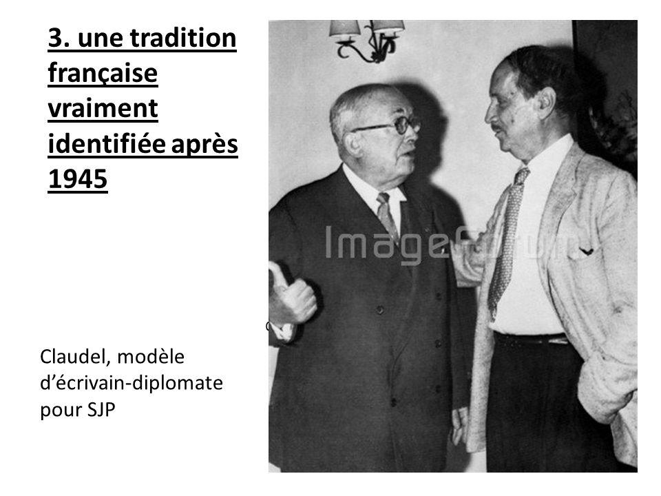 3. une tradition française vraiment identifiée après 1945