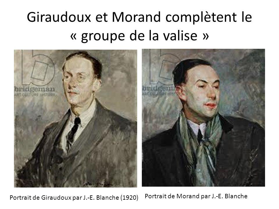 Giraudoux et Morand complètent le « groupe de la valise »