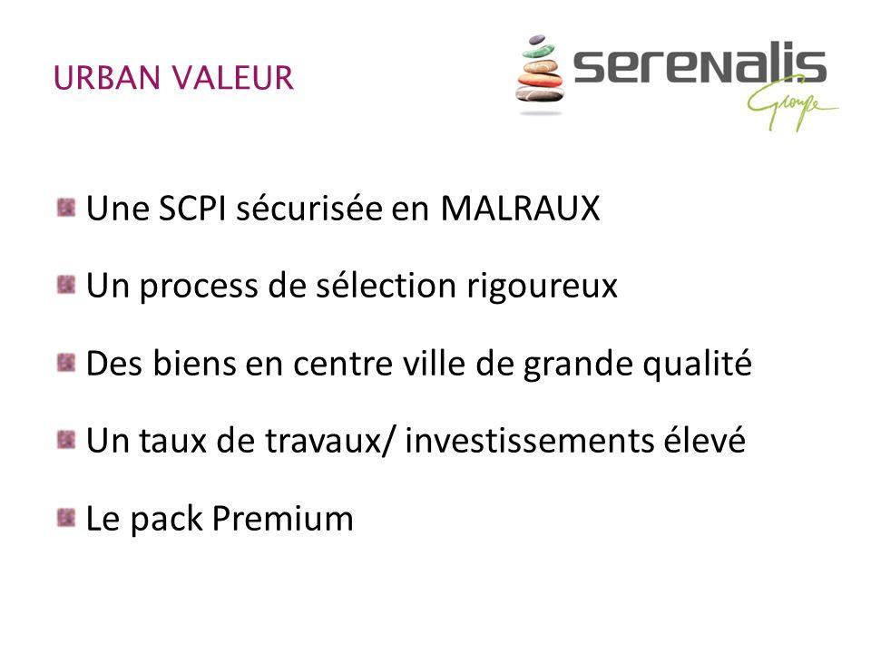 Une SCPI sécurisée en MALRAUX Un process de sélection rigoureux