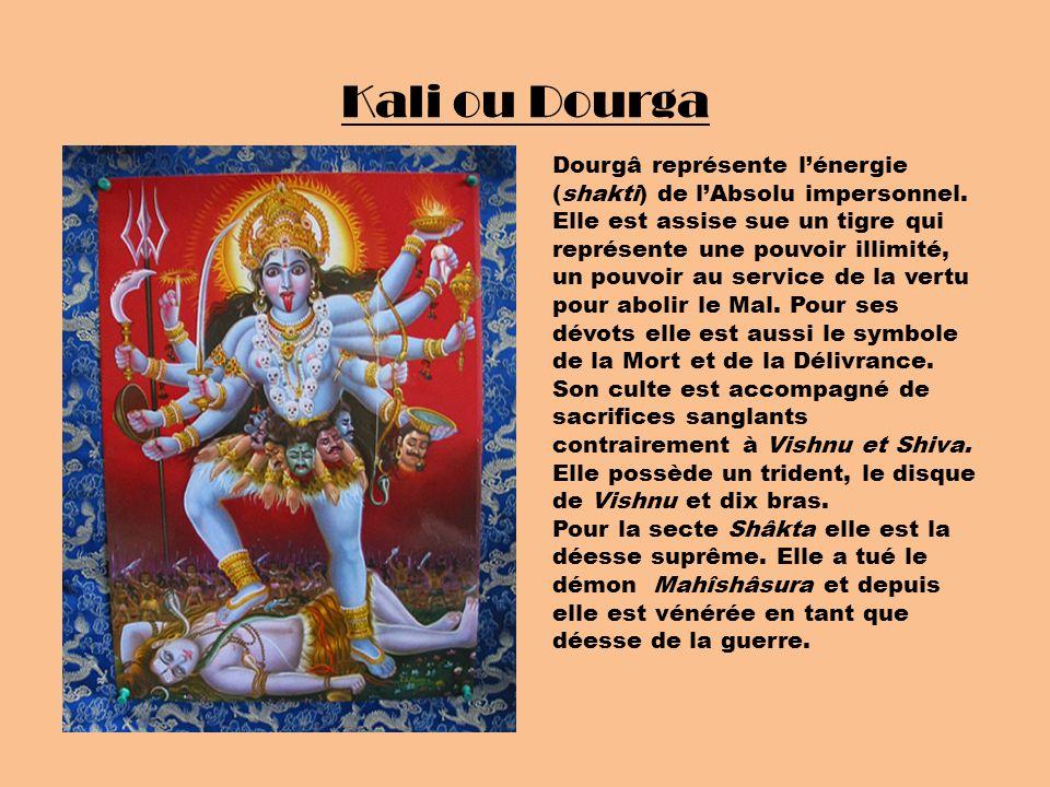 Kali ou Dourga
