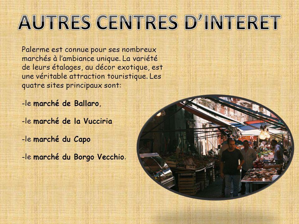 AUTRES CENTRES D'INTERET