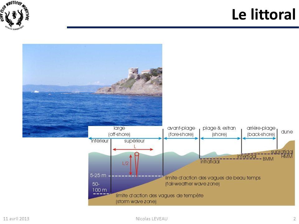 Le littoral 11 avril 2013 Nicolas LEVEAU