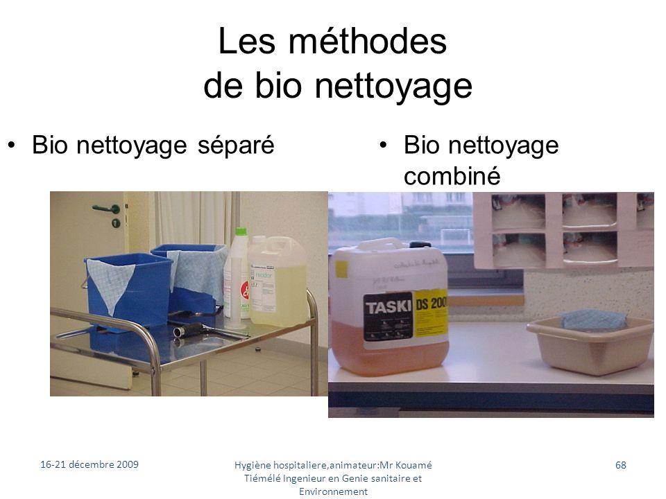 Les méthodes de bio nettoyage