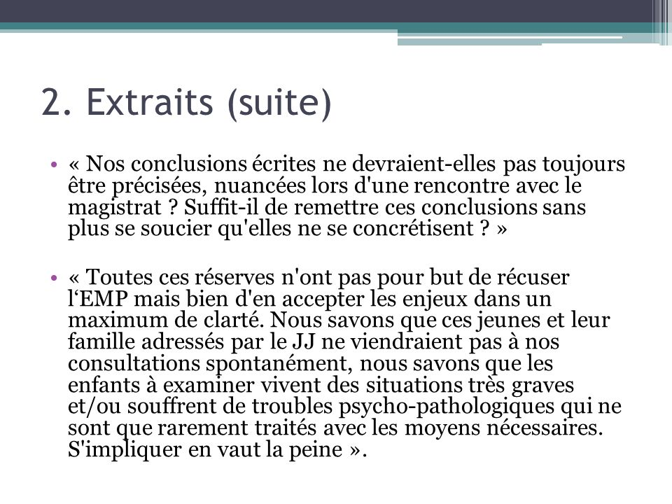 2. Extraits (suite)