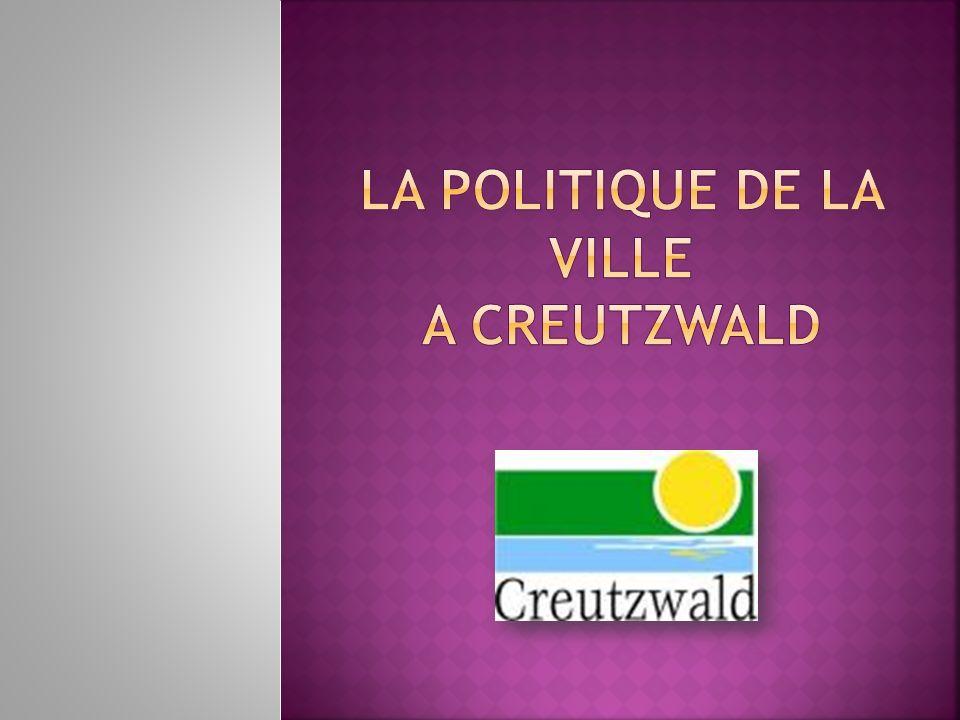 La politique de la ville a creutzwald