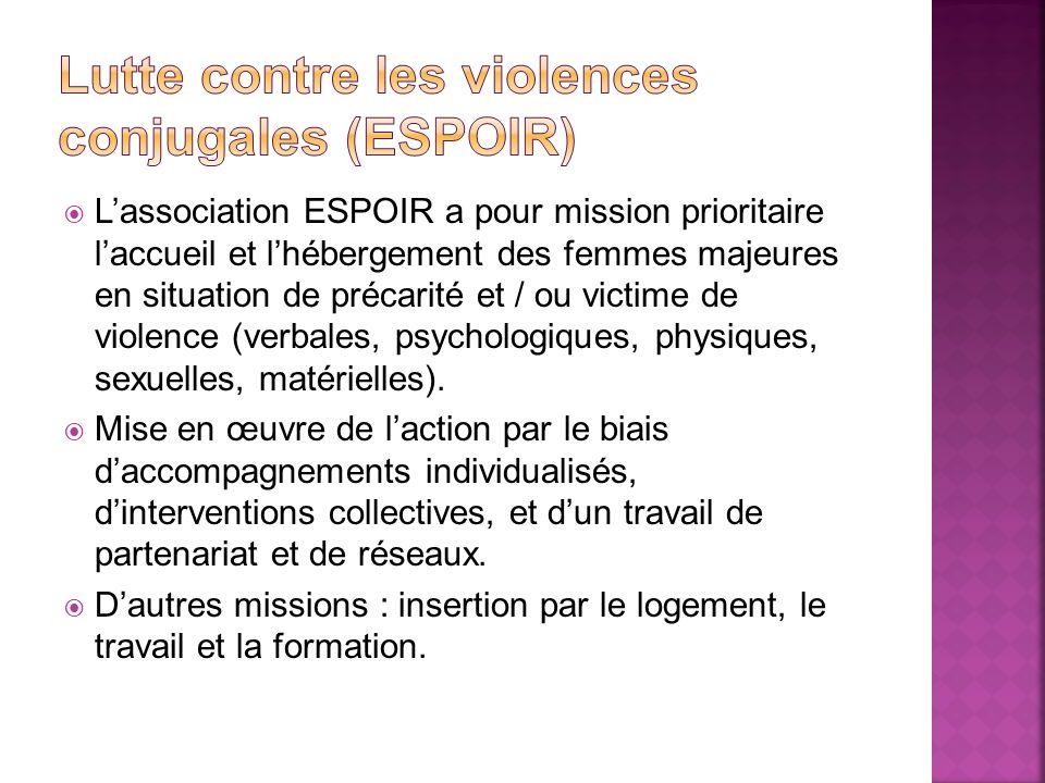 Lutte contre les violences conjugales (espoir)