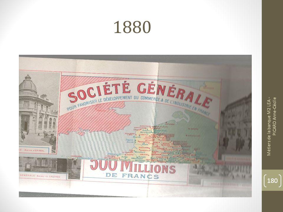 1880 Métiers de la banque M2 LEA - PICARD Anne-Cécile