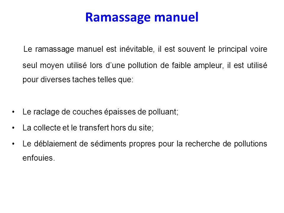 Ramassage manuel