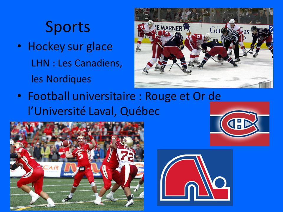 Sports Hockey sur glace