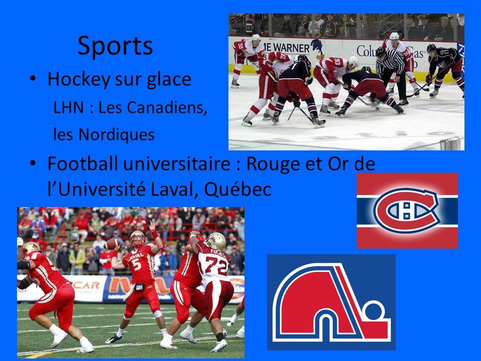 Sports Hockey sur glace