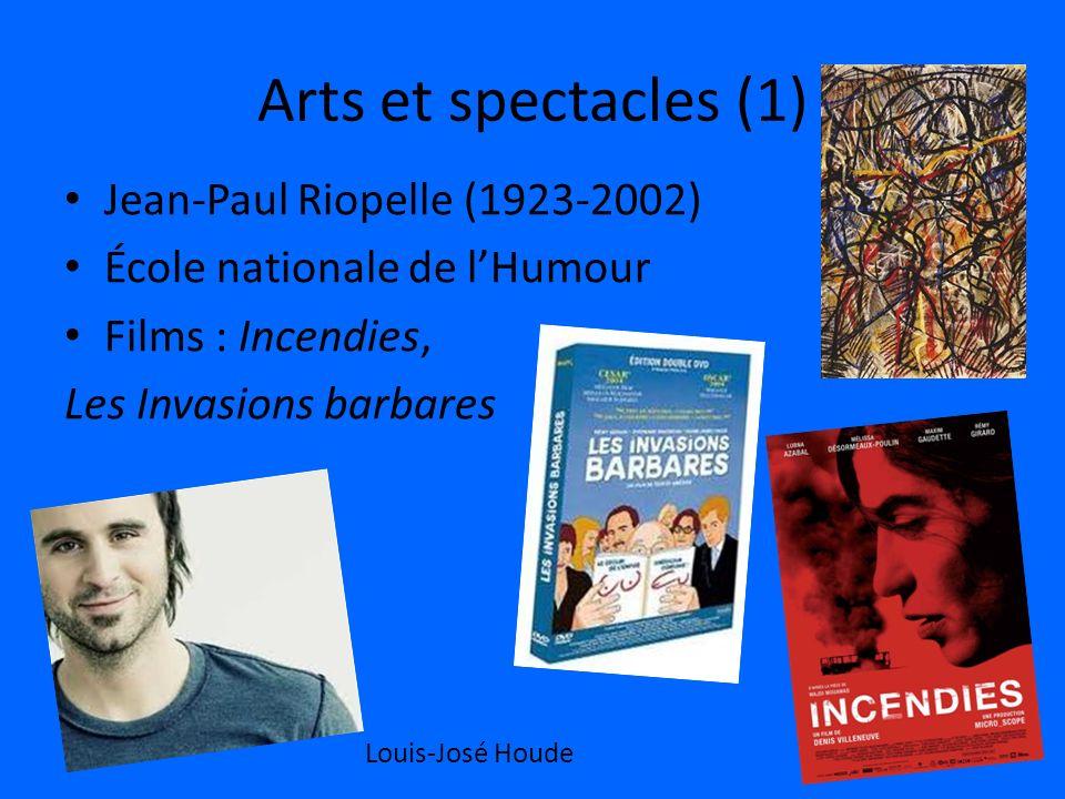 Arts et spectacles (1) Jean-Paul Riopelle (1923-2002)
