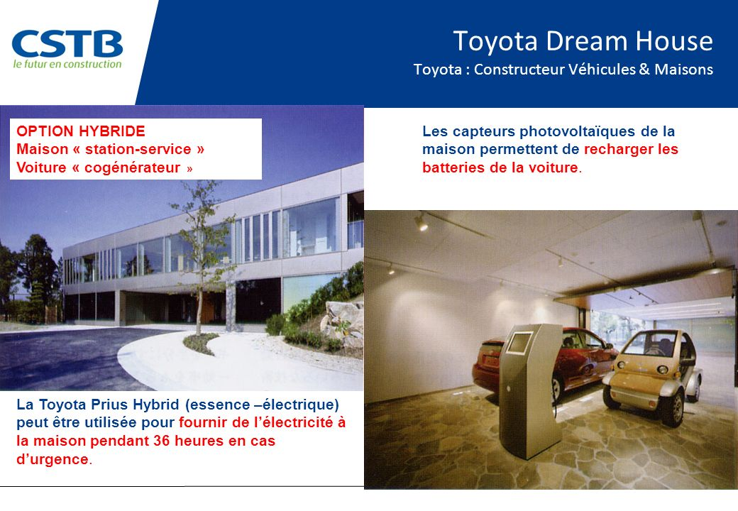 Toyota Dream House Toyota : Constructeur Véhicules & Maisons