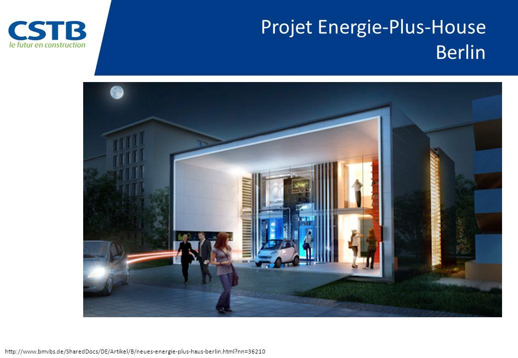 Projet Energie-Plus-House Berlin