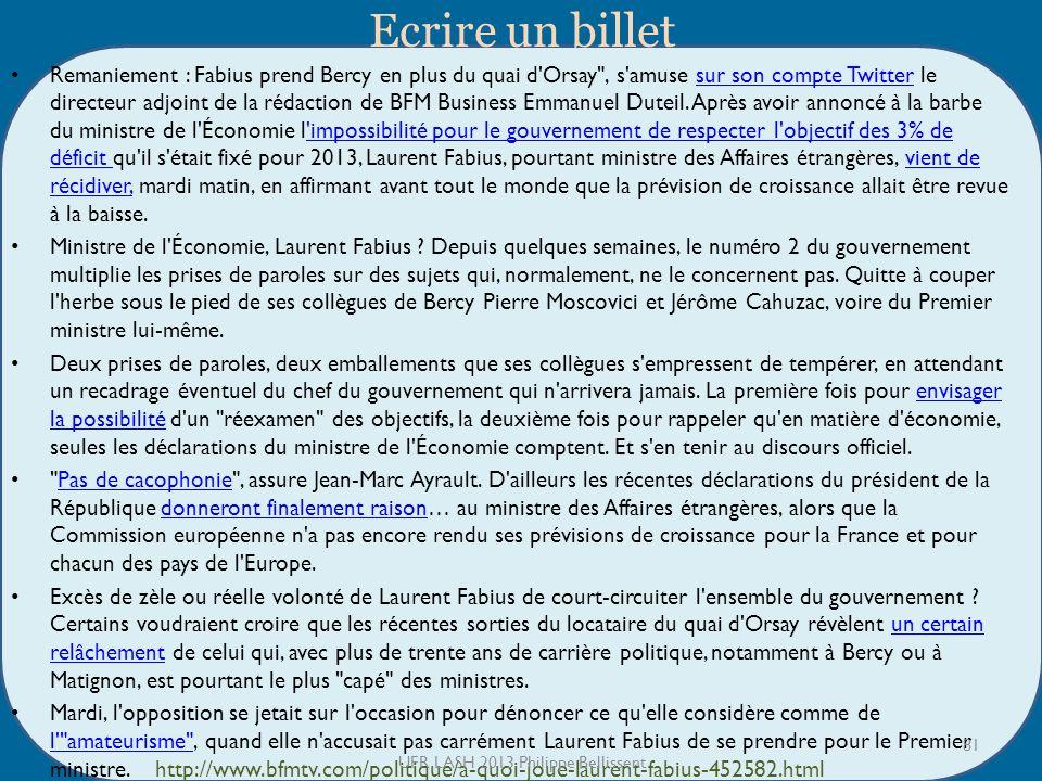 UFR LASH 2013 Philippe Bellissent