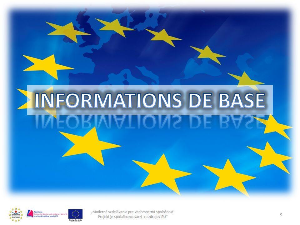 INFORMATIONS DE BASE